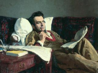 обои Илья РЕПИН М.И.Глинка в период сочинения оперы «Руслан и Людмила» фото