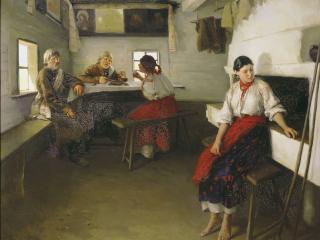 обои Николай ПИМОНЕНКО (1862-1912). Сваты фото