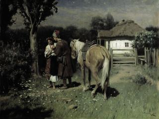 обои Николай ПИМОНЕНКО (1862-1912). Украинская ночь фото