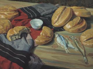 обои Семь хлебов фото