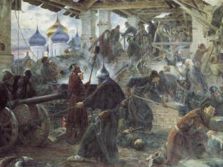обои Сергей МИЛОРАДОВИЧ  Оборона Троице-Cергиевой лавры фото