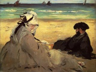 обои Э. Мане - На пляже фото