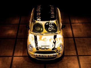 обои Painted car фото