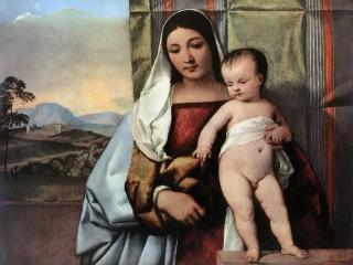 обои Тициан - Цыганская Мадонна фото