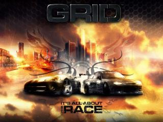 обои GRID - It s all about the race фото