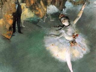 обои Degas - Прима фото
