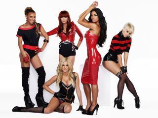 обои Pussycat Dolls в вызывающей одежде фото