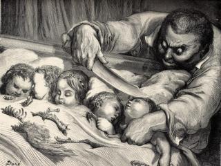 обои Густав Доре - Мальчик с пальчик фото
