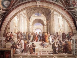 обои The School of Athens фото