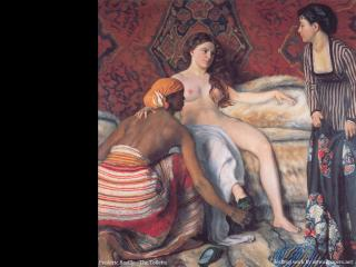 обои Frederic Bazille - The Toilette фото