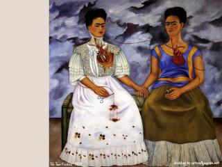 обои Фрида Кало - Две Фриды фото
