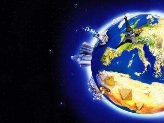 обои для рабочего стола: Все чудеса света на планете