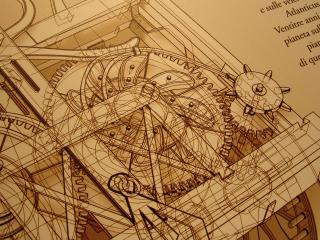 обои Схема гения Леонардо да Винчи фото