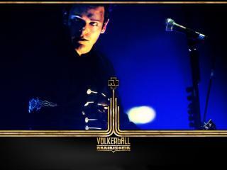 обои Гитарист Rammstein Рихард Круспе фото