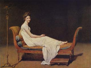 обои Жак Луи Давид - Портрет мадам Рекамье фото
