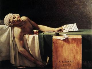 обои Жак Луи Давид - Смерть Марата фото