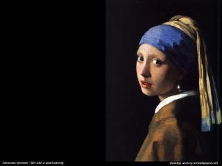 обои Ян Вермер - Девушка с жемчужной серёжкой фото