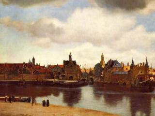 обои Ян Вермер - Панорама Делфта фото