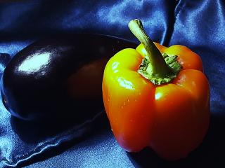 обои Перец и баклажан фото