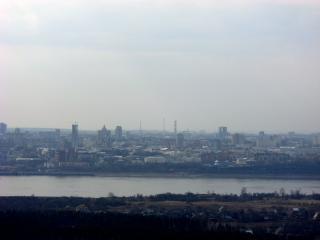 обои для рабочего стола: Пермь. Вид на город