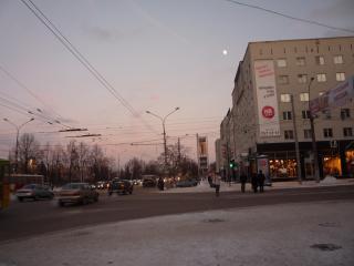 обои Пермь. зимний вечер фото