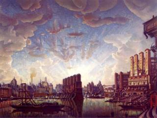 обои Константин Богаевский - Порт воображаемого города фото