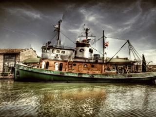 обои Живое судно фото