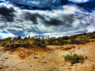 обои Пустыня под небом фото