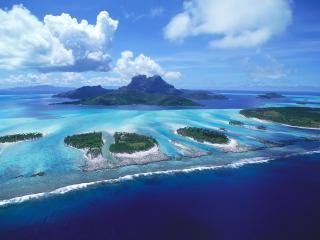 обои Карибский архипелаг фото