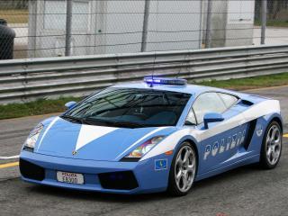 обои Lamborghini Polizia фото