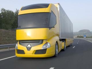 обои Классный грузовик Рено фото