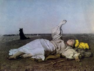 обои Юзеф Хелмоньский - Бабье лето фото