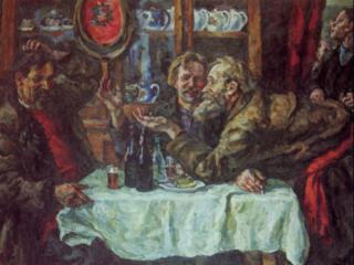 обои Петр Петрович Кончаловский - Новгородцы фото