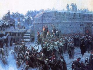 обои Франц Рубо - Оборона Севастополя фото