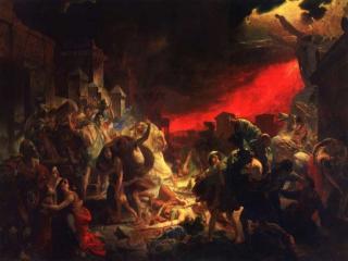 обои Карл Брюллов - Последний день Помпеи фото