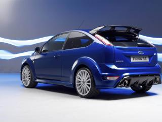 обои Ford Focus RS синий фото