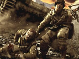 обои Братья по оружию: ад войны фото