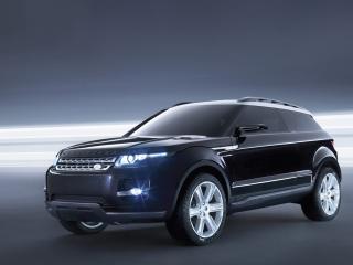 обои для рабочего стола: Land Rover LRX Concept Концептуальный