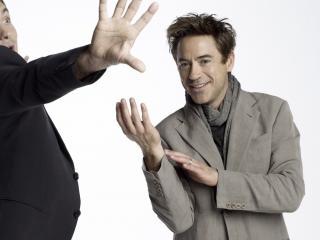 обои Роберт Дауни младший и Джуд Лоу фото