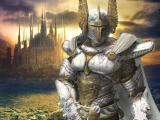 обои для рабочего стола: Светлый рыцарь из героев меча и и магии