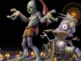 обои Команда странных существ фото