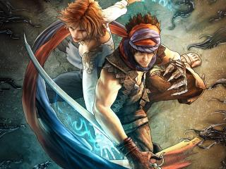обои Prince of Persia Prodigy two fighters фото