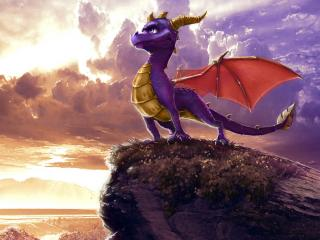 обои Spyro the Dragon фото