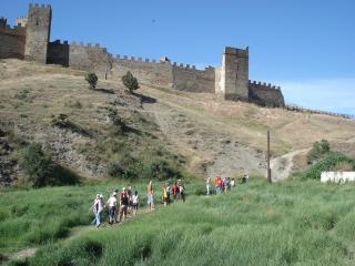 обои Судакская крепость фото