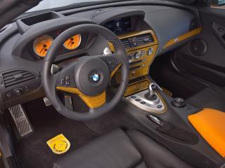 обои Внутри салона BMW Schnitzer фото