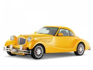 обои Желтый автомобиль Bufori фото