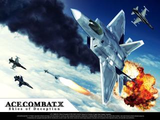 обои Ace Combat X: Skies of Deception фото