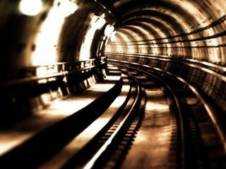 обои Metro Subway Tunnel фото