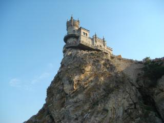 обои Замок на горе фото