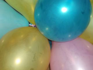 обои Разноцветные шары фото